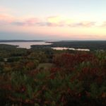 View of Blue Hill Bay from the Southside of the Mtn