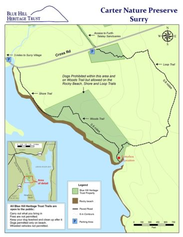 Carter Nature Preserve with NEW Loop Trail