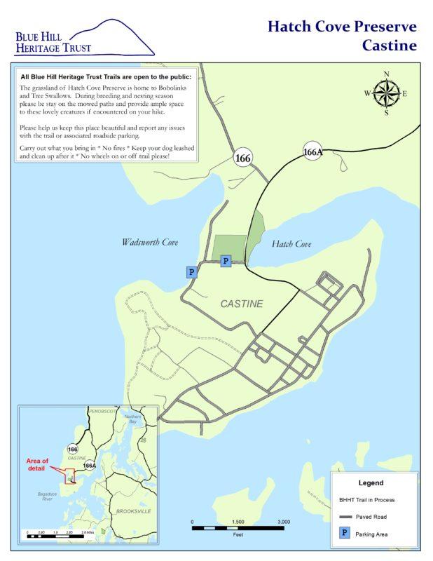Hatch Cove Blue Hill Heritage Trust