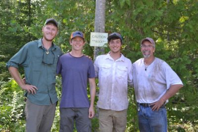 Blue Hill Heritage Trust Summer Interns 2018